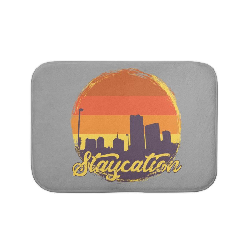 Staycation Home Bath Mat by Thirty Silver