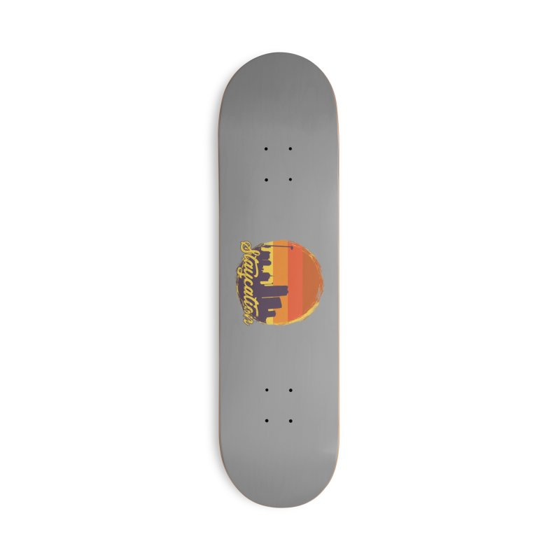Staycation Accessories Deck Only Skateboard by Thirty Silver