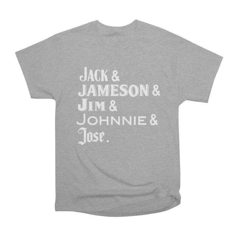 Happy Friends Women's Heavyweight Unisex T-Shirt by Thirty Silver