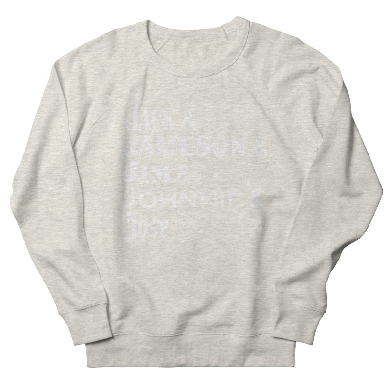 Happy Friends Men's French Terry Sweatshirt by Thirty Silver