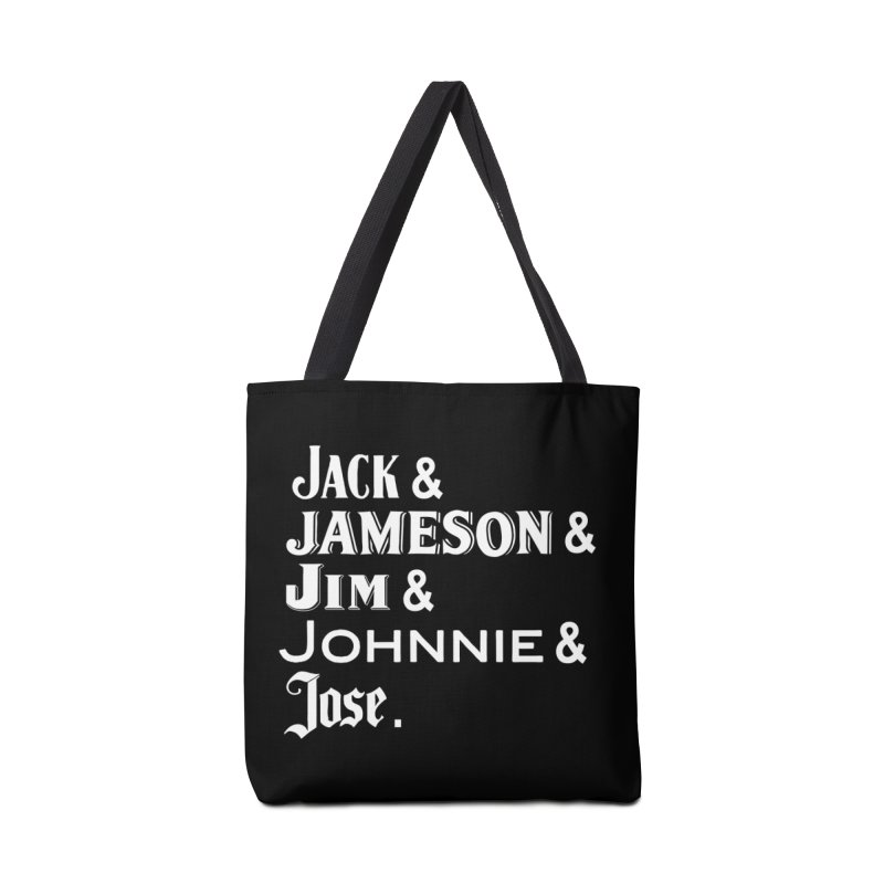Happy Friends Accessories Tote Bag Bag by Thirty Silver