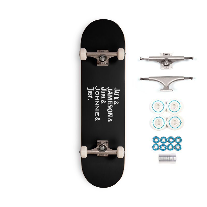 Happy Friends Accessories Complete - Basic Skateboard by Thirty Silver