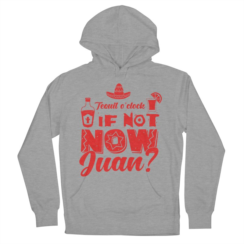 If not now, Juan? Men's French Terry Pullover Hoody by Thirty Silver