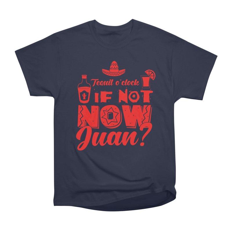 If not now, Juan? Men's Heavyweight T-Shirt by Thirty Silver
