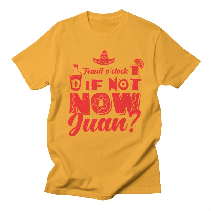 If not now, Juan? Men's Regular T-Shirt by Thirty Silver