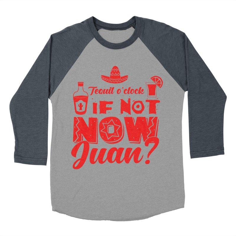 If not now, Juan? Women's Baseball Triblend Longsleeve T-Shirt by Thirty Silver