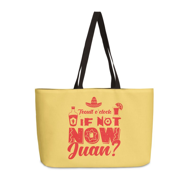 If not now, Juan? Accessories Weekender Bag Bag by Thirty Silver