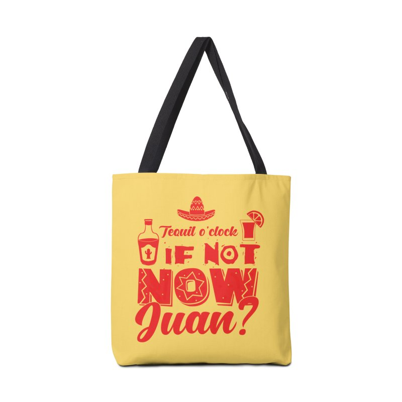 If not now, Juan? Accessories Tote Bag Bag by Thirty Silver