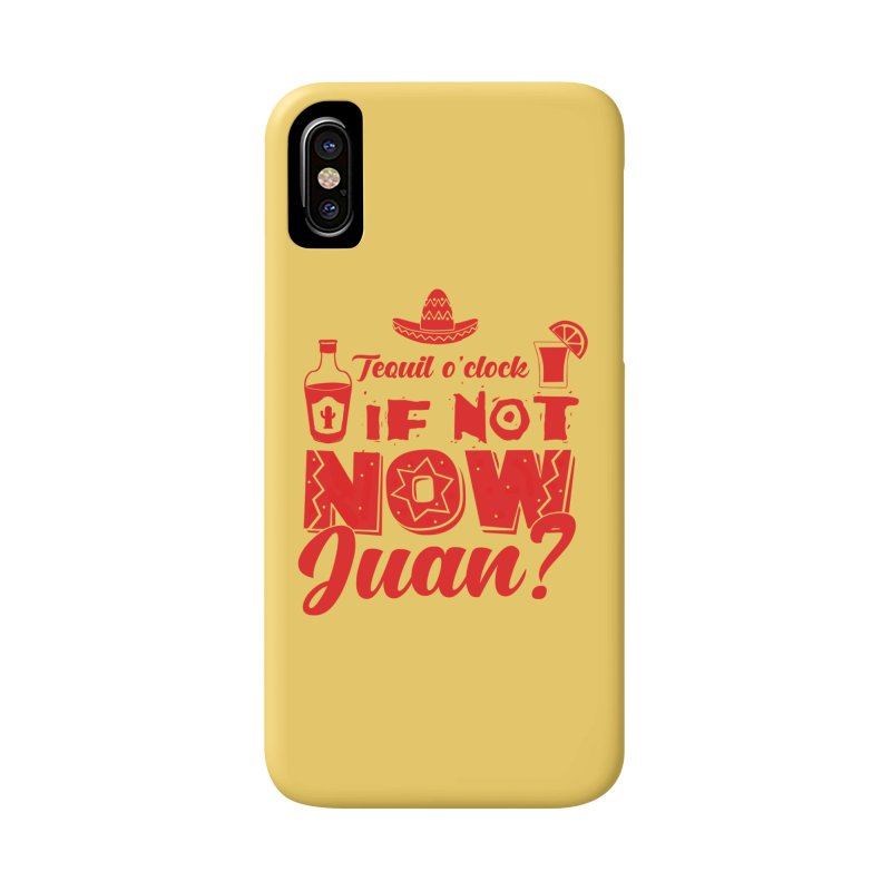 If not now, Juan? Accessories Phone Case by Thirty Silver