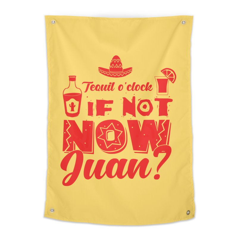 If not now, Juan? Home Tapestry by Thirty Silver