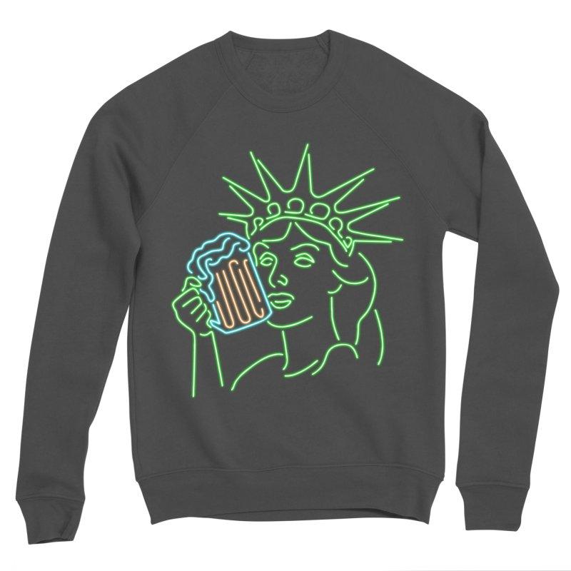 LiBEERty Men's Sponge Fleece Sweatshirt by Thirty Silver