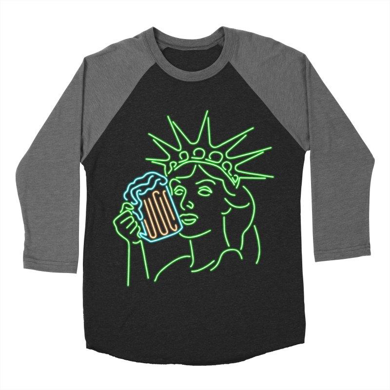 LiBEERty Women's Baseball Triblend Longsleeve T-Shirt by Thirty Silver