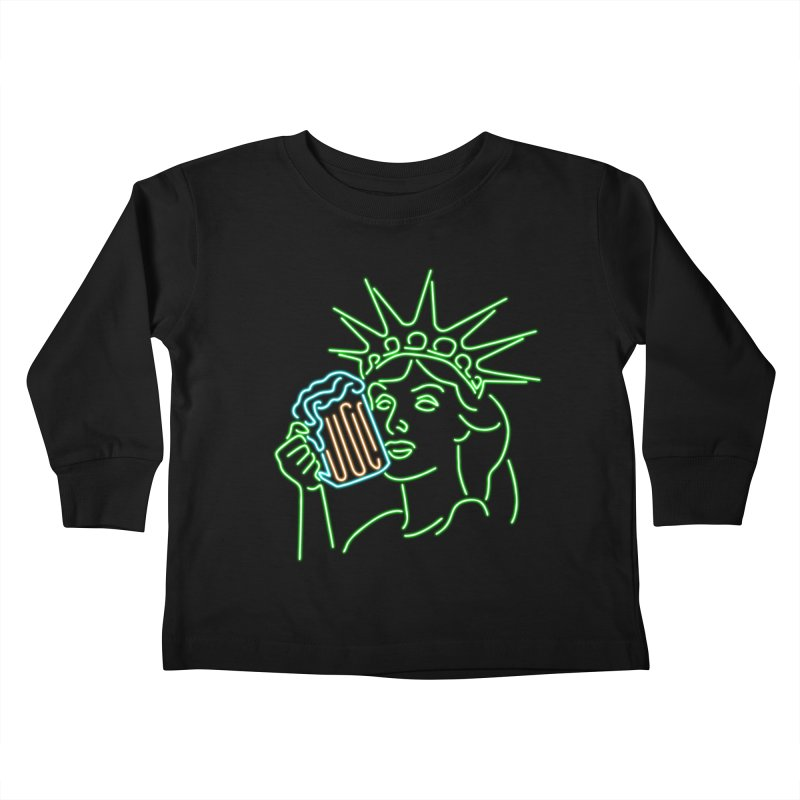 LiBEERty Kids Toddler Longsleeve T-Shirt by Thirty Silver