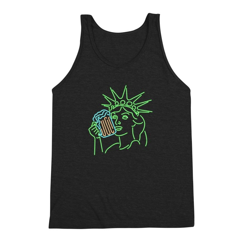 LiBEERty Men's Triblend Tank by Thirty Silver