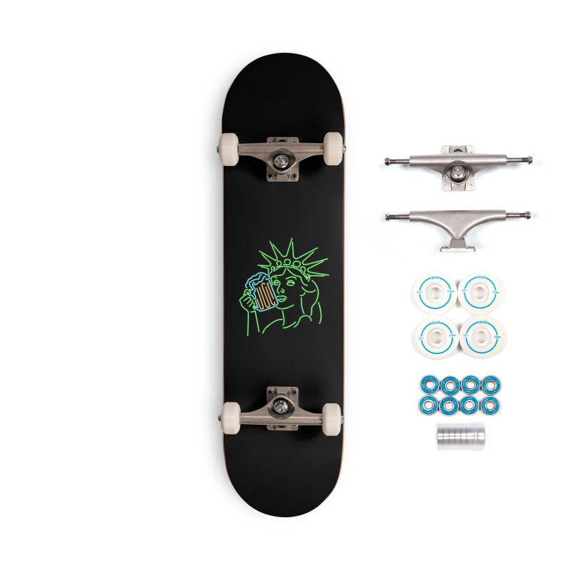 LiBEERty Accessories Complete - Basic Skateboard by Thirty Silver