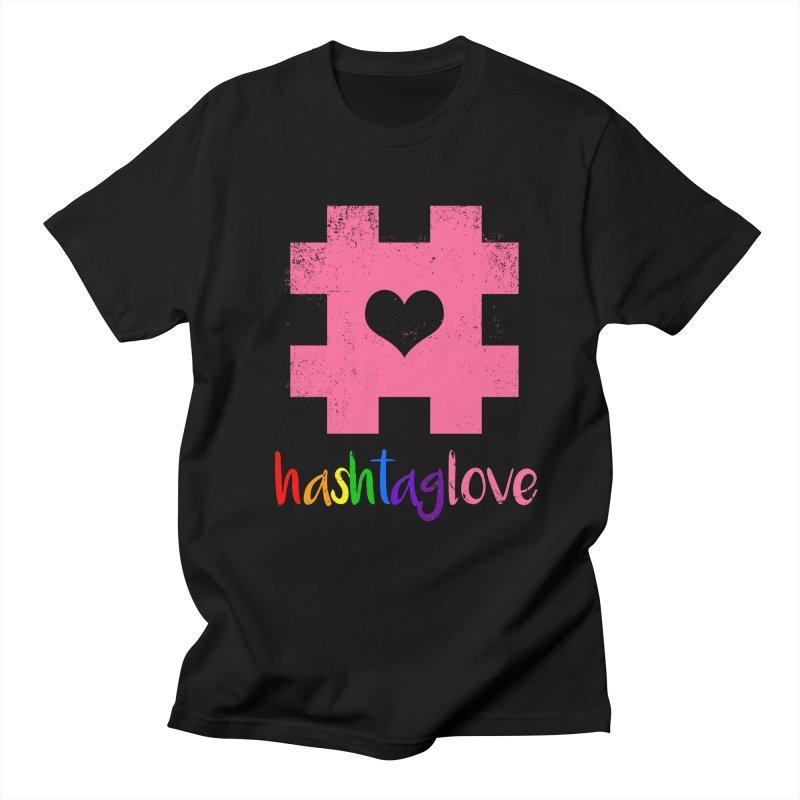 hashtaglove Women's Regular Unisex T-Shirt by Thirty Silver
