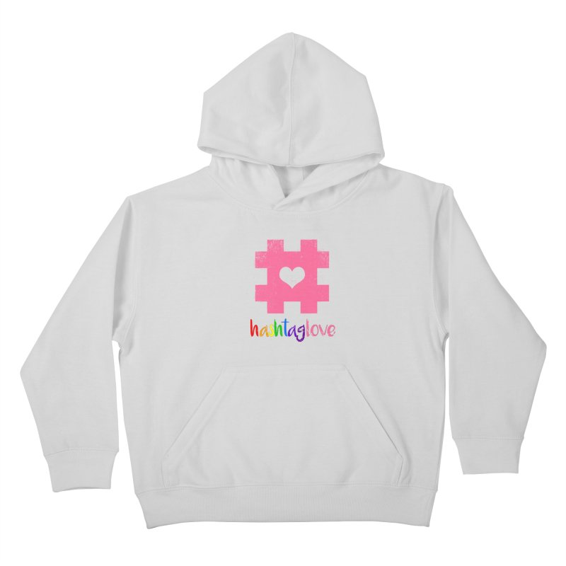 hashtaglove Kids Pullover Hoody by Thirty Silver