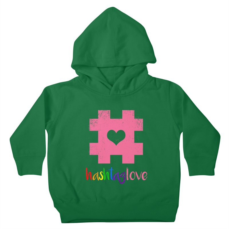 hashtaglove Kids Toddler Pullover Hoody by Thirty Silver