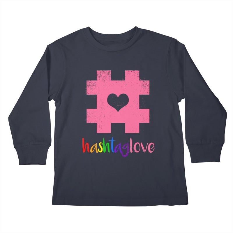 hashtaglove Kids Longsleeve T-Shirt by Thirty Silver