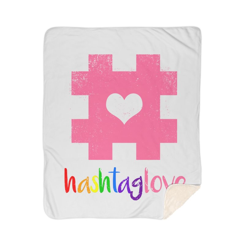 hashtaglove Home Sherpa Blanket Blanket by Thirty Silver