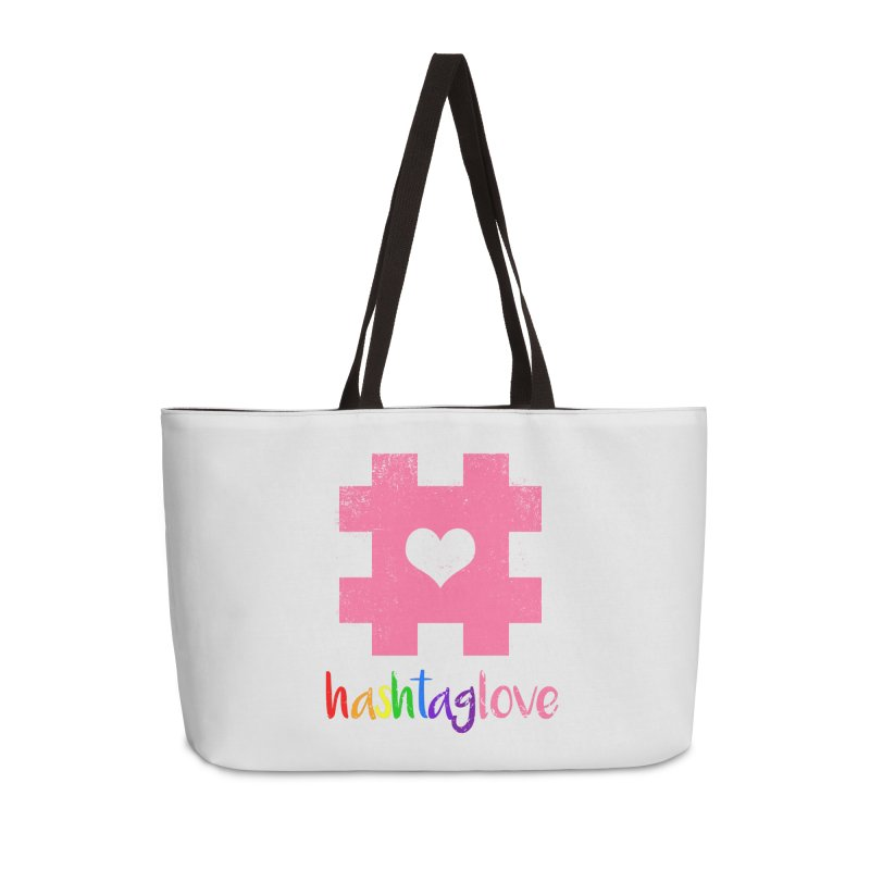 hashtaglove Accessories Weekender Bag Bag by Thirty Silver