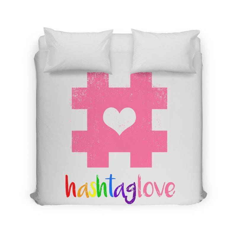 hashtaglove Home Duvet by Thirty Silver