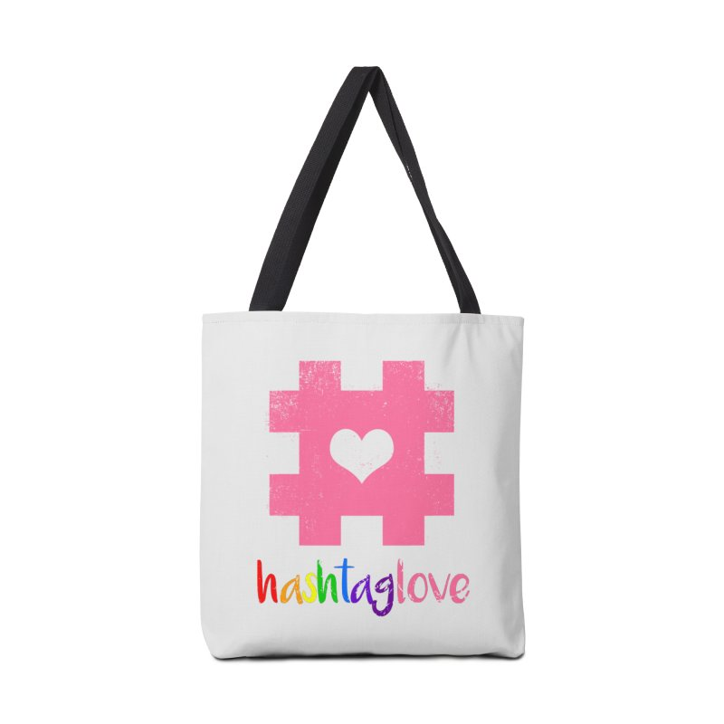 hashtaglove Accessories Tote Bag Bag by Thirty Silver