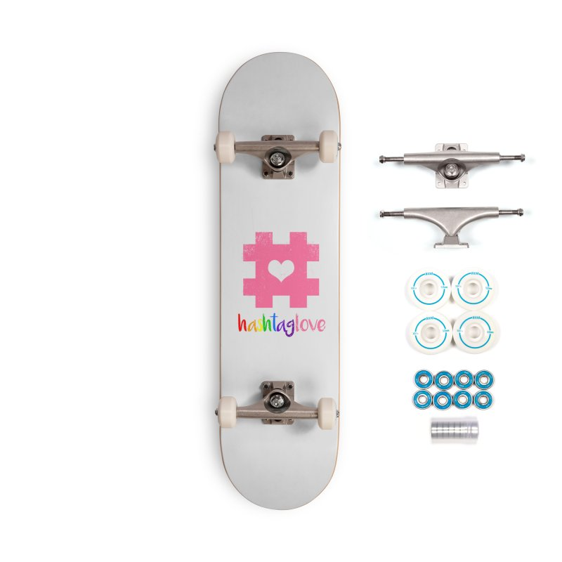 hashtaglove Accessories Complete - Basic Skateboard by Thirty Silver