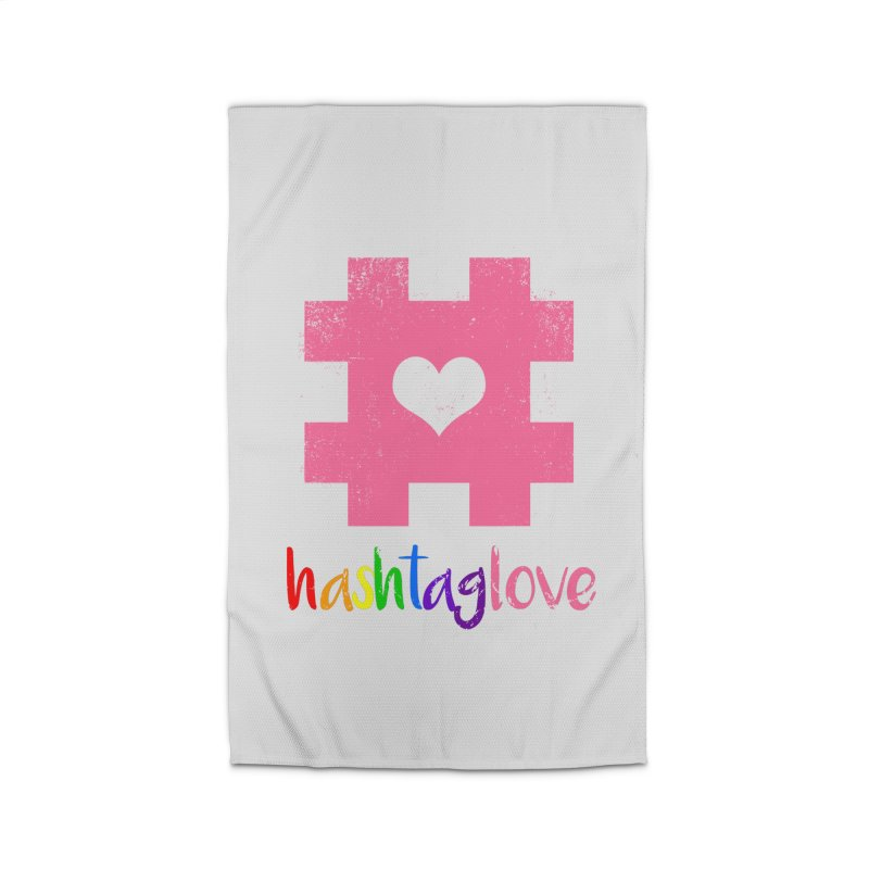 hashtaglove Home Rug by Thirty Silver