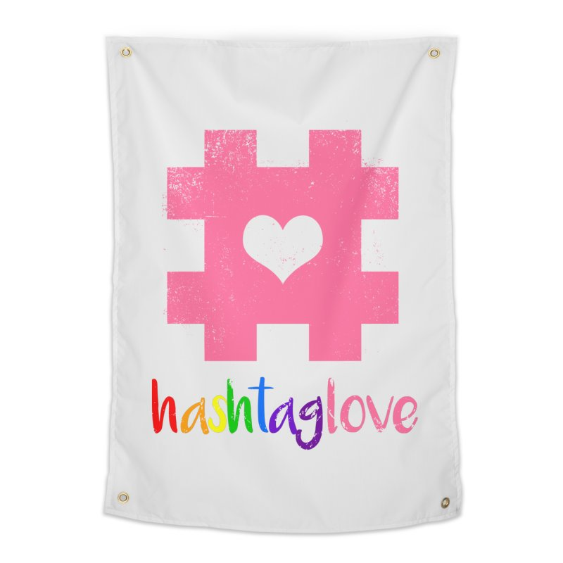 hashtaglove Home Tapestry by Thirty Silver