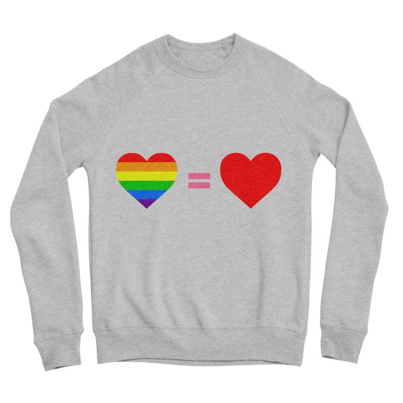 love is love Men's Sponge Fleece Sweatshirt by Thirty Silver