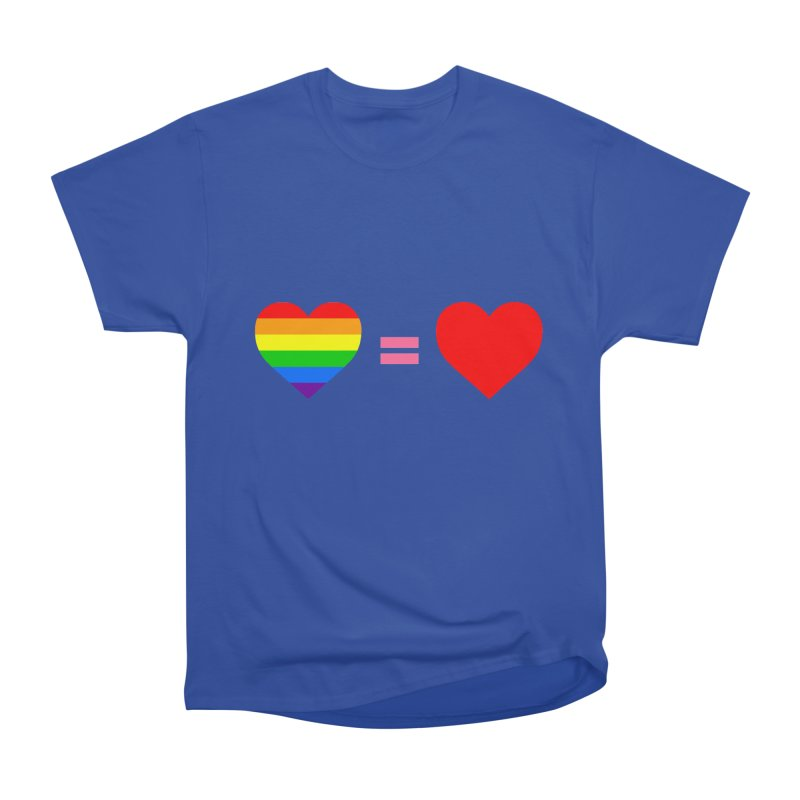 love is love Men's Heavyweight T-Shirt by Thirty Silver