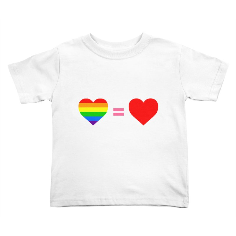 love is love Kids Toddler T-Shirt by Thirty Silver