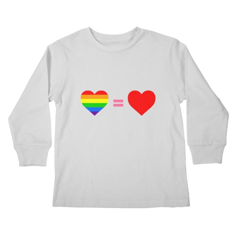 love is love Kids Longsleeve T-Shirt by Thirty Silver