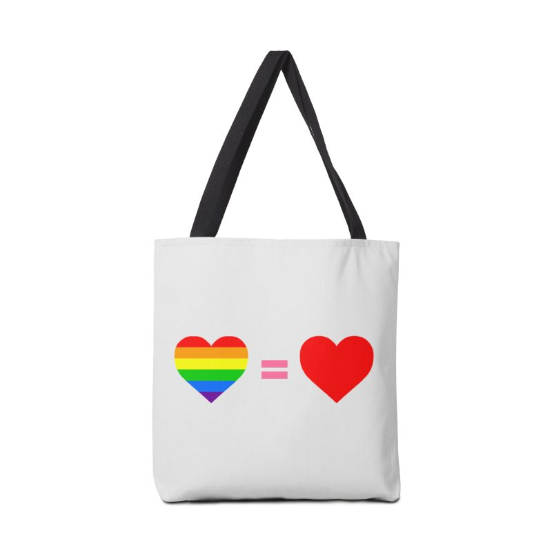 love is love Accessories Tote Bag Bag by Thirty Silver