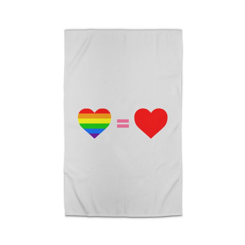 love is love Home Rug by Thirty Silver