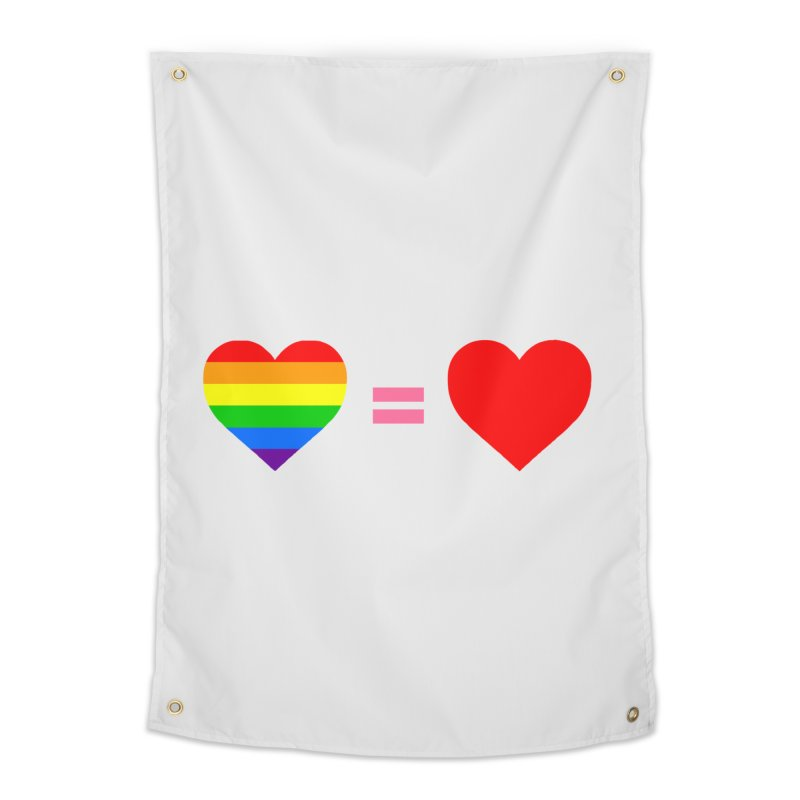 love is love Home Tapestry by Thirty Silver