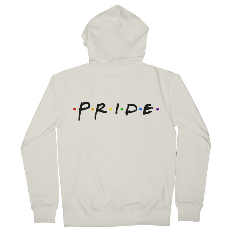 Pride Women's French Terry Zip-Up Hoody by Thirty Silver