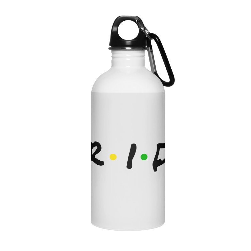 Pride Accessories Water Bottle by Thirty Silver
