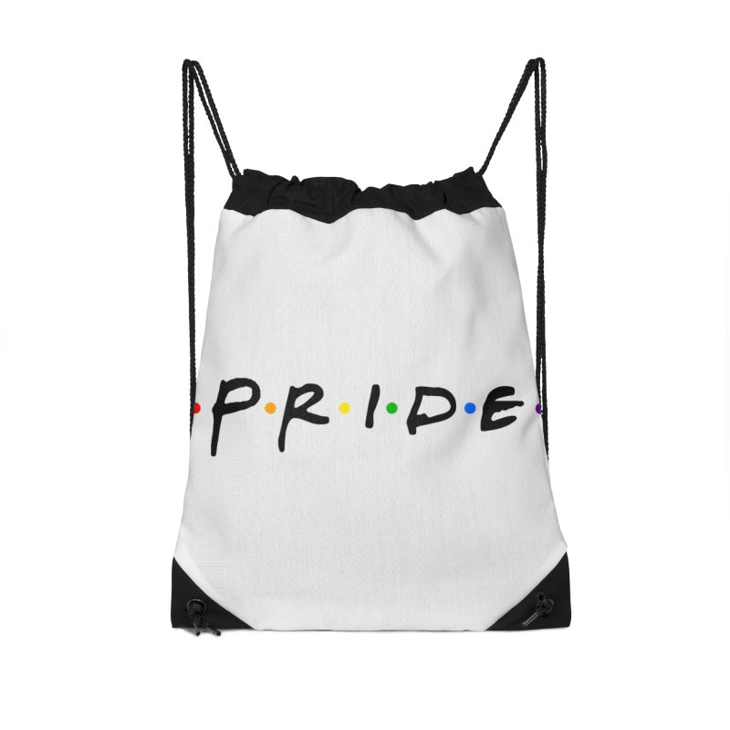 Pride Accessories Drawstring Bag Bag by Thirty Silver