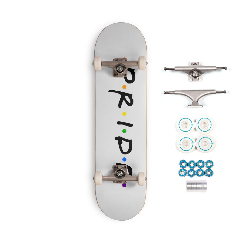 Pride Accessories Complete - Basic Skateboard by Thirty Silver