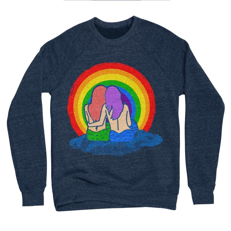 Mermaid for each other Women's Sponge Fleece Sweatshirt by Thirty Silver