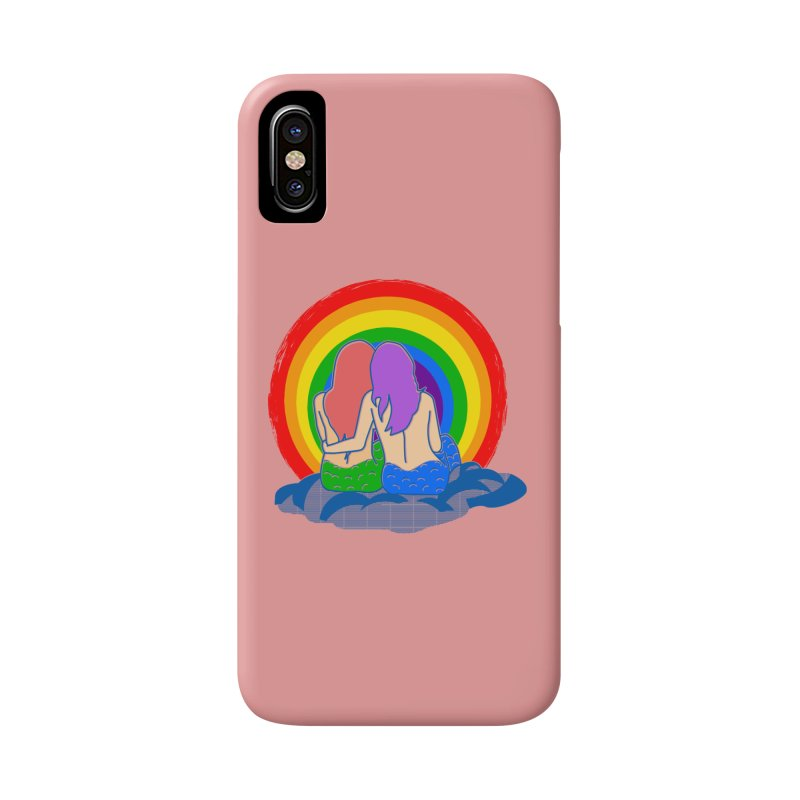 Mermaid for each other Accessories Phone Case by Thirty Silver