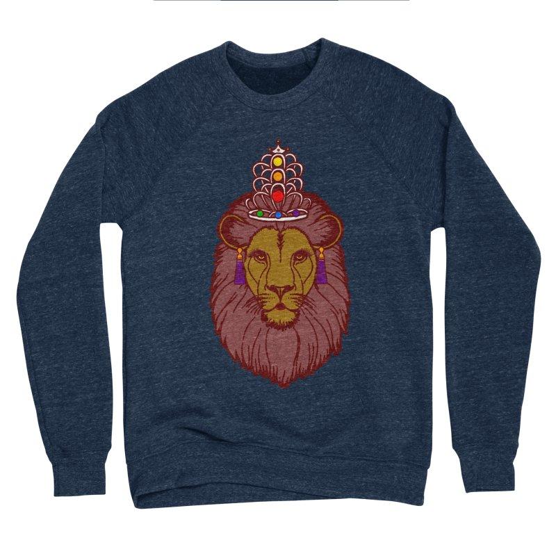 Queen of the pride Men's Sponge Fleece Sweatshirt by Thirty Silver