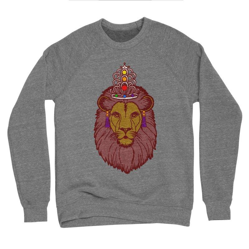 Queen of the pride Women's Sponge Fleece Sweatshirt by Thirty Silver