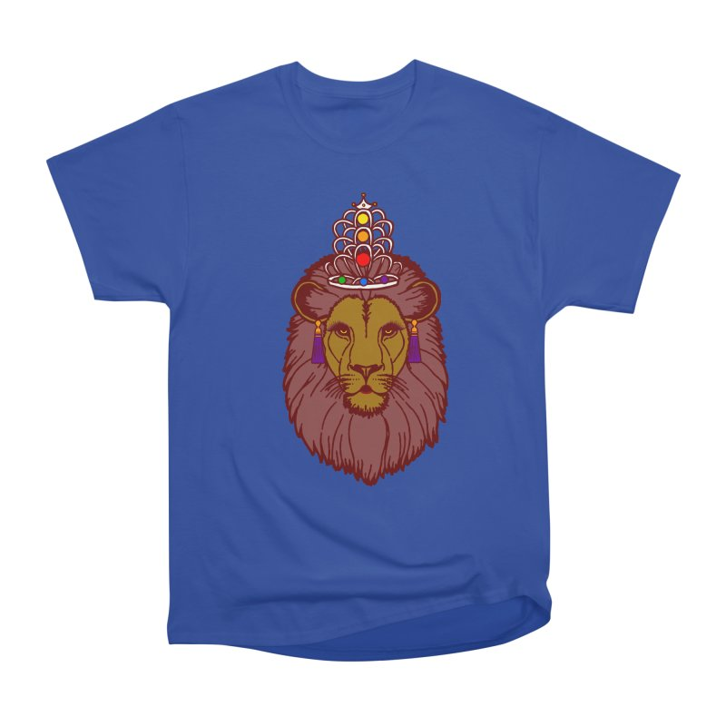 Queen of the pride Men's Heavyweight T-Shirt by Thirty Silver
