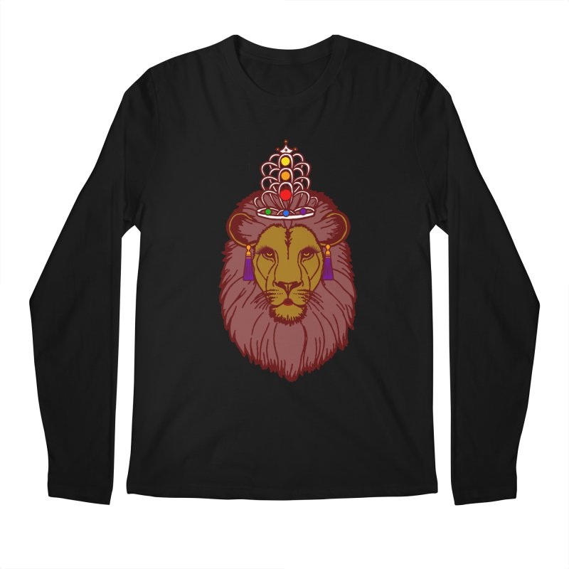 Queen of the pride Men's Regular Longsleeve T-Shirt by Thirty Silver
