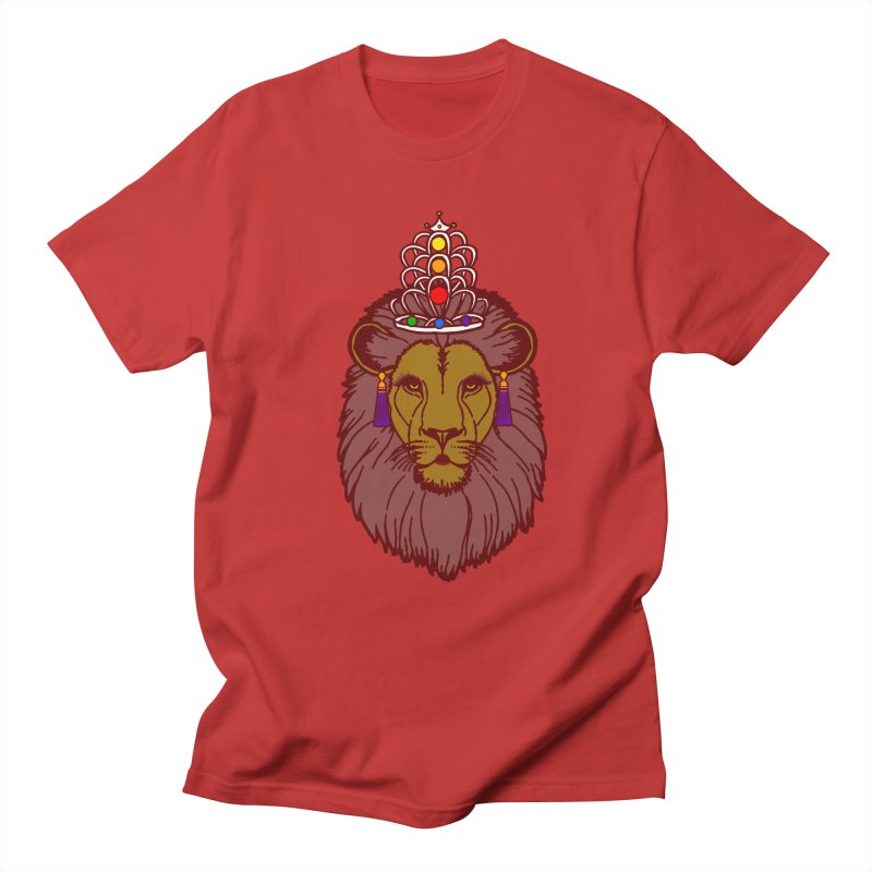 Queen of the pride Women's Regular Unisex T-Shirt by Thirty Silver
