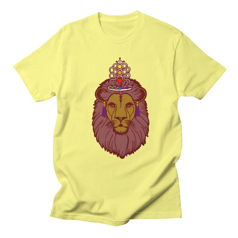 Queen of the pride Men's Regular T-Shirt by Thirty Silver