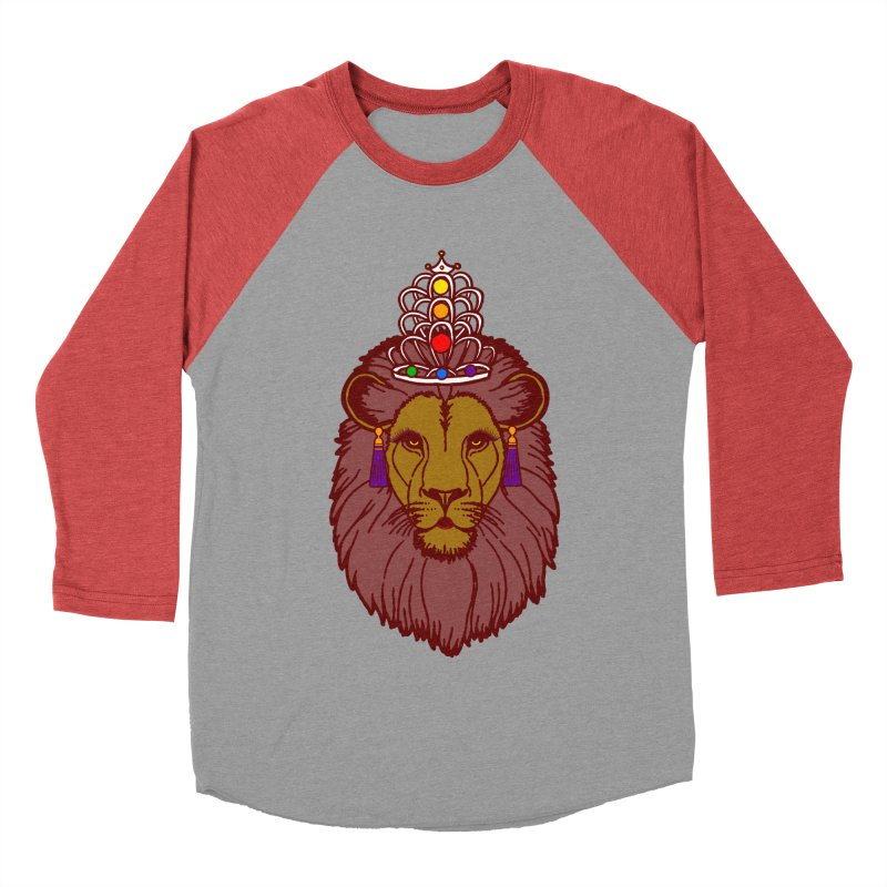 Queen of the pride Women's Baseball Triblend Longsleeve T-Shirt by Thirty Silver